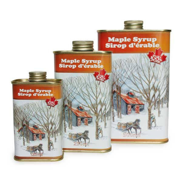 Pure Maple Syrup  - (Cans)