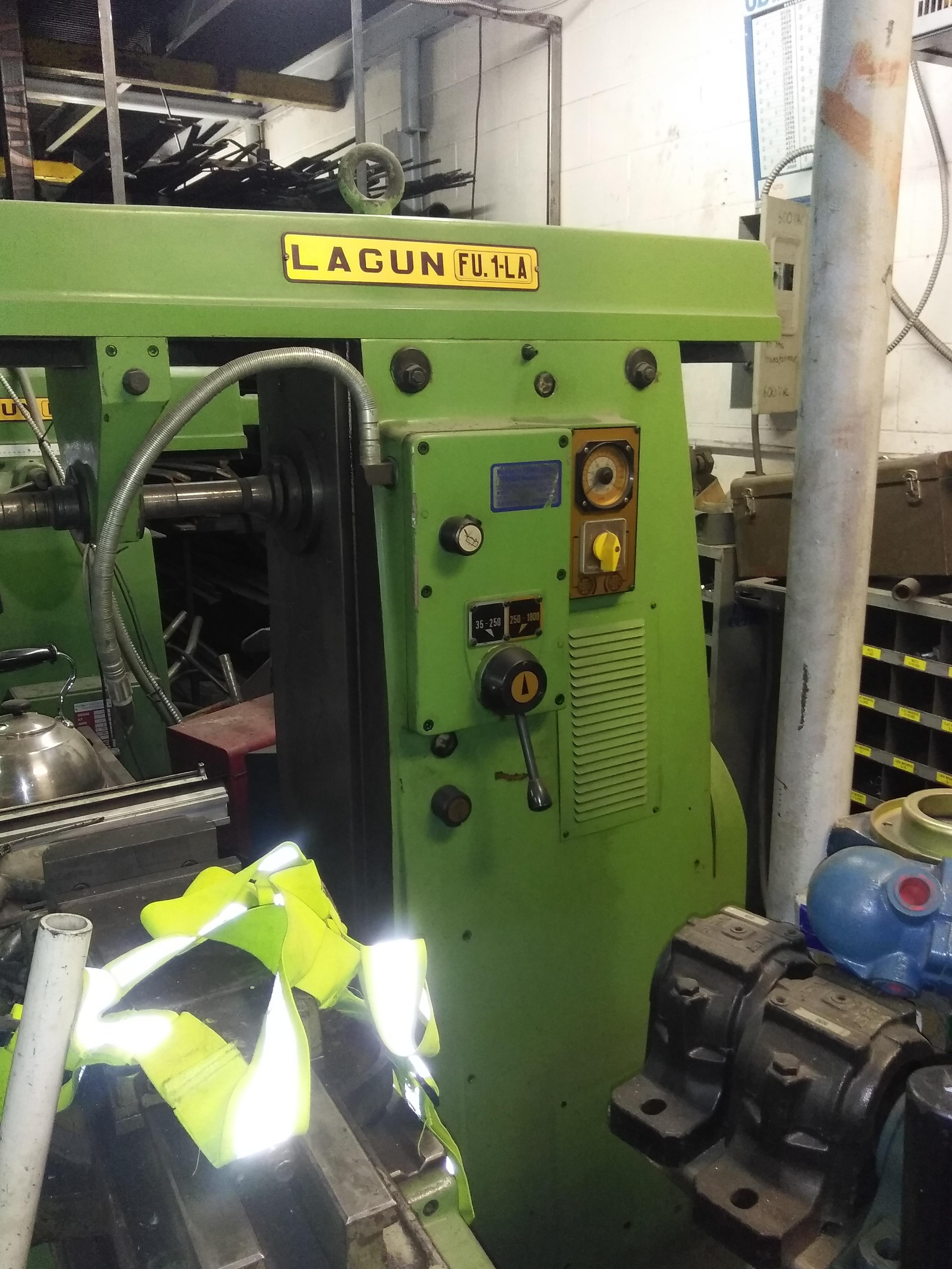 Lagun FU1 LA - Horizontal Milling  Machine   Quantity :1  Cost: $3500
